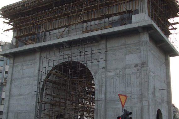 Makedónia kapuja  –Skopje (Macedonia)
